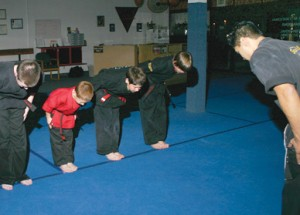 Gilbert, AZ Karate Instructor and Students